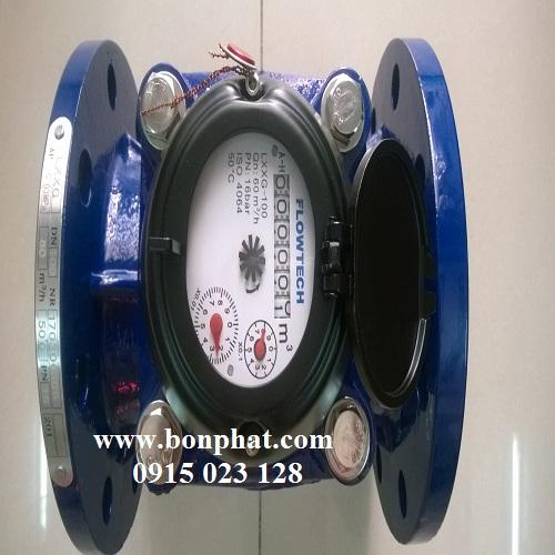 đồng hồ nước thải dn100 flowtech malaysia