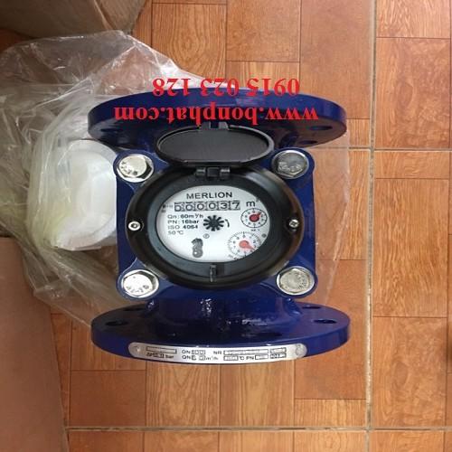 đồng hồ đo nước thải dn100 merlion