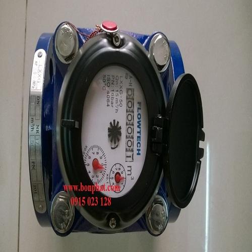 đồng hồ đo nước thải dn50 flowtech